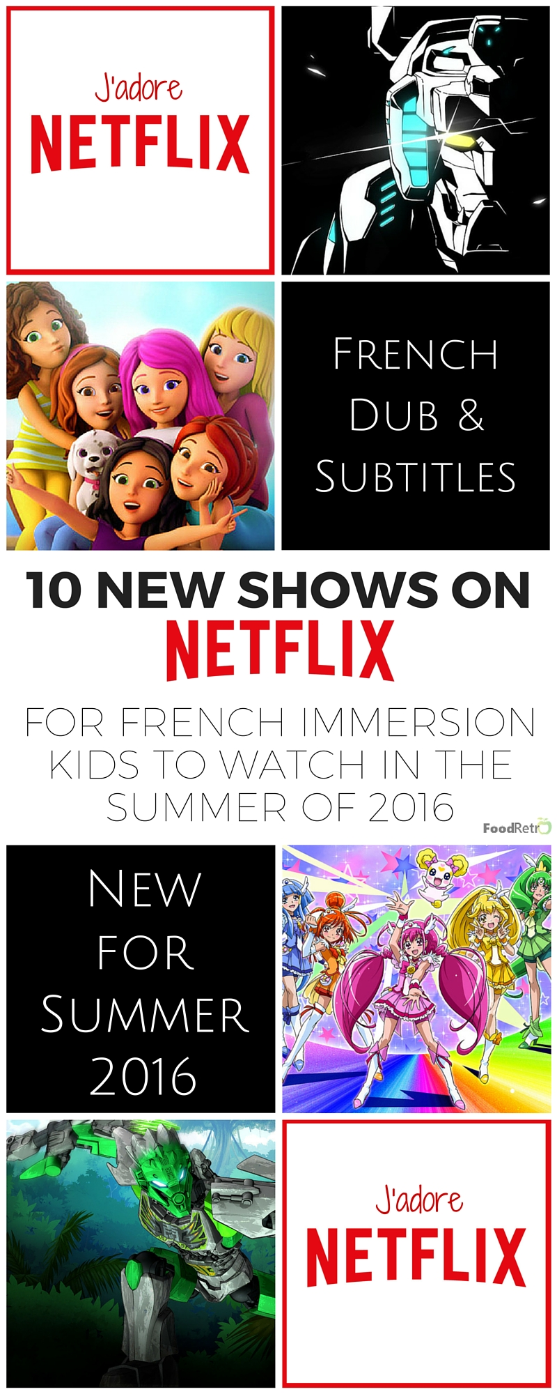 10 New French Dubbed & French Subtitled Shows on Netflix for Kids
