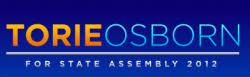 Torie Osborne for State Assembly 2012 Logo