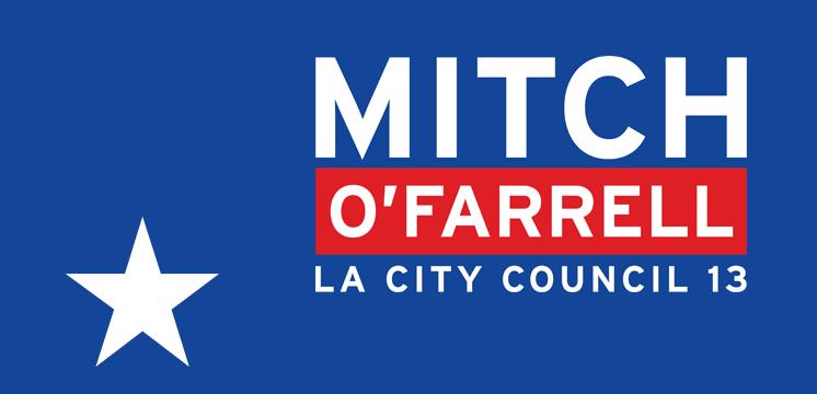 mitch o'farrell 2013 campaign logo