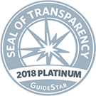 2018 Guidestar Seal of Transparency