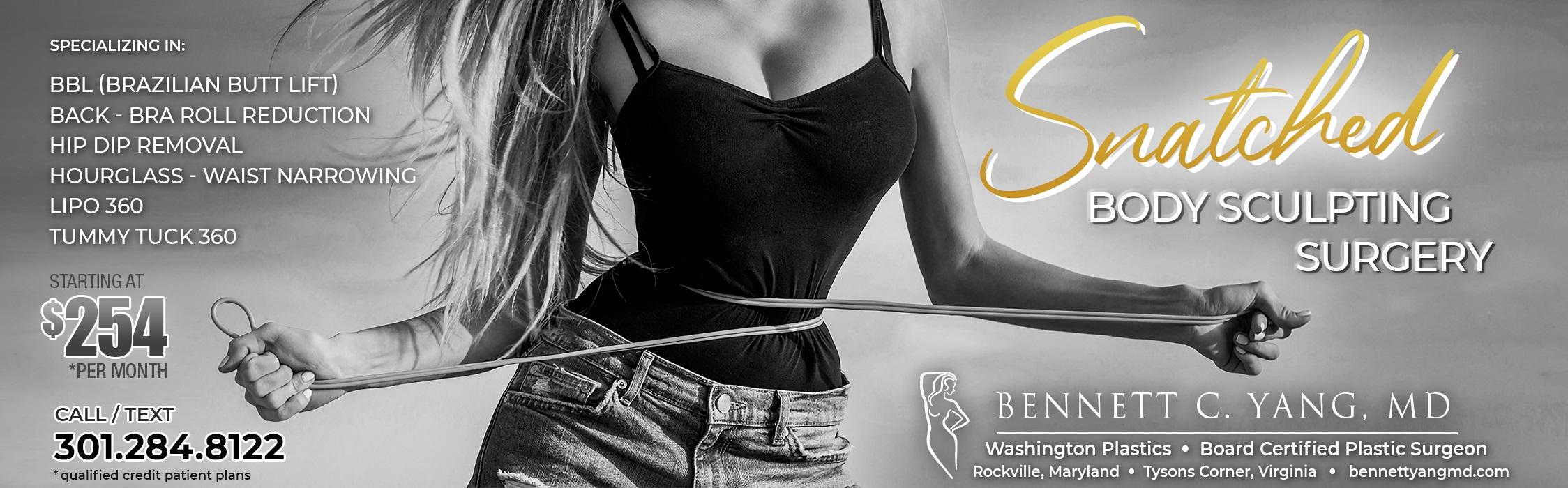 Snatched Waist BBL Maryland - Waist Narrowing Surgery