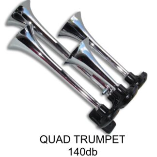 Quad Trumpet Horn with Viair Air Systems