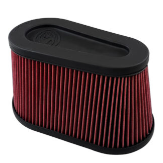 S&B Air Filter KF-1076 Red-Oiled Cleanable