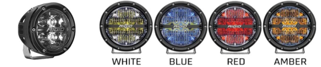 RIGID 360-Series Size and Color