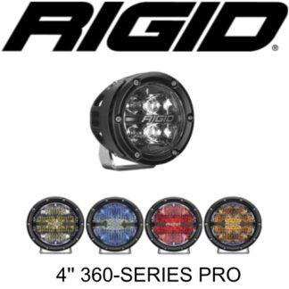 """Rigid 4"""" 360-Series LED Lights"""