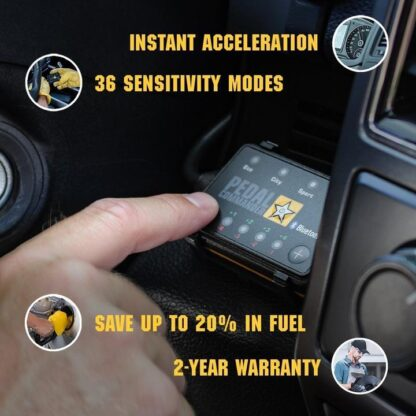 Pedal Commander Throttle Booster instant acceleration