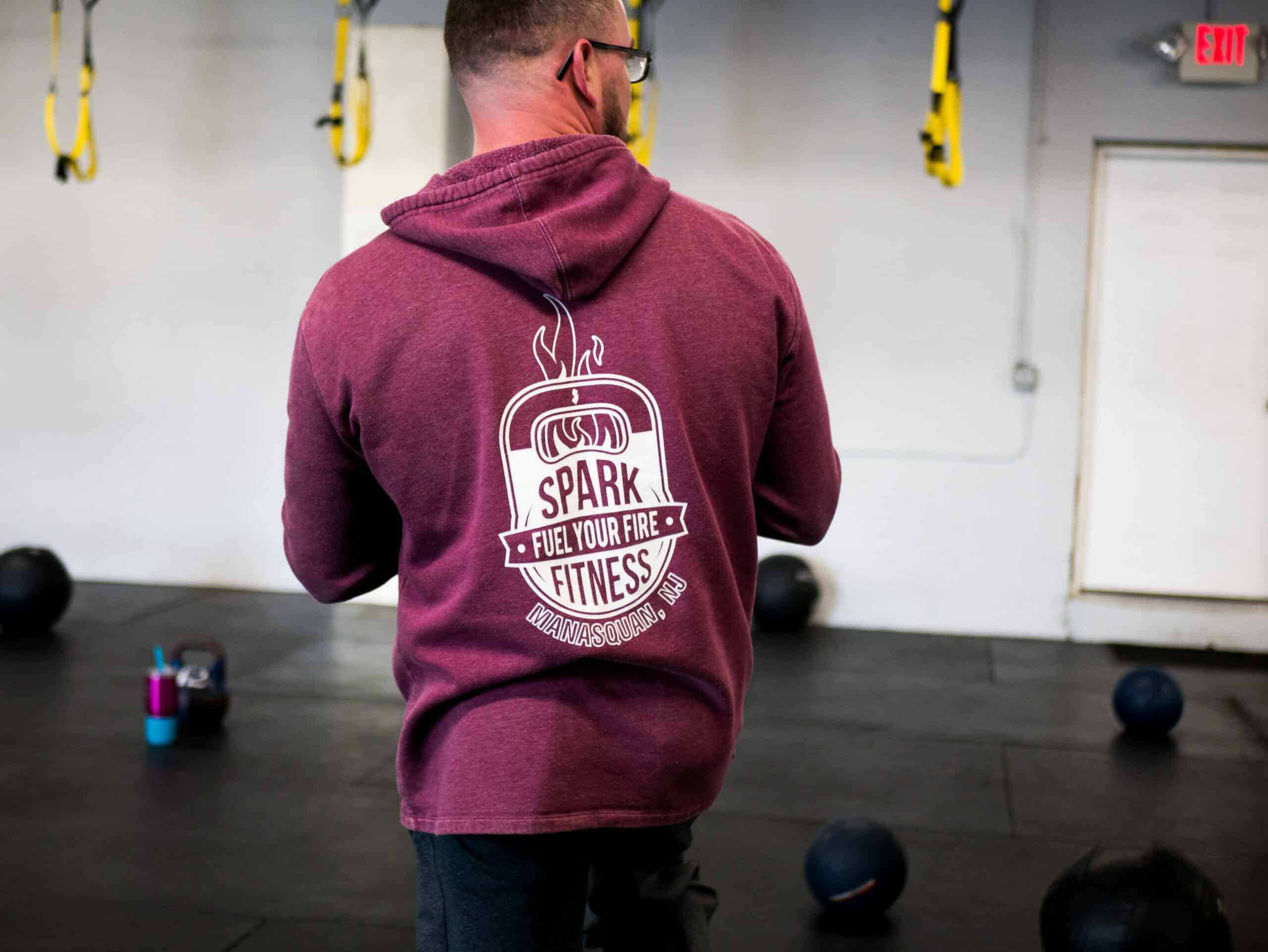 Spark Fitness coach and owner Kevin Byrnes