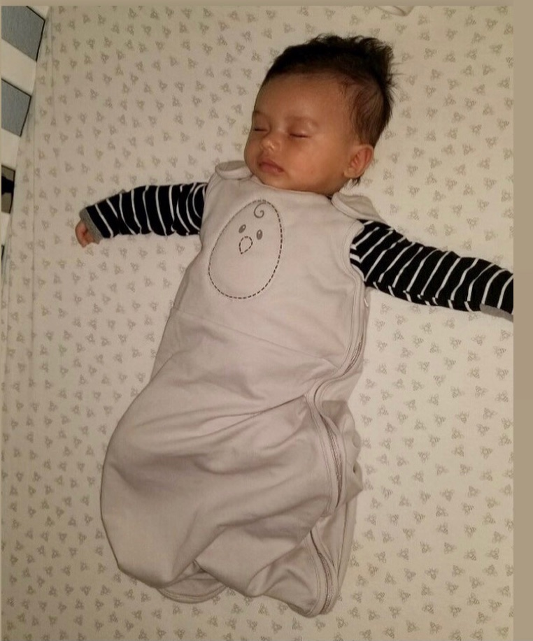 Transitioning from the swaddle to the sleep sack