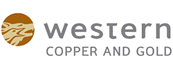 western copper and gold logo