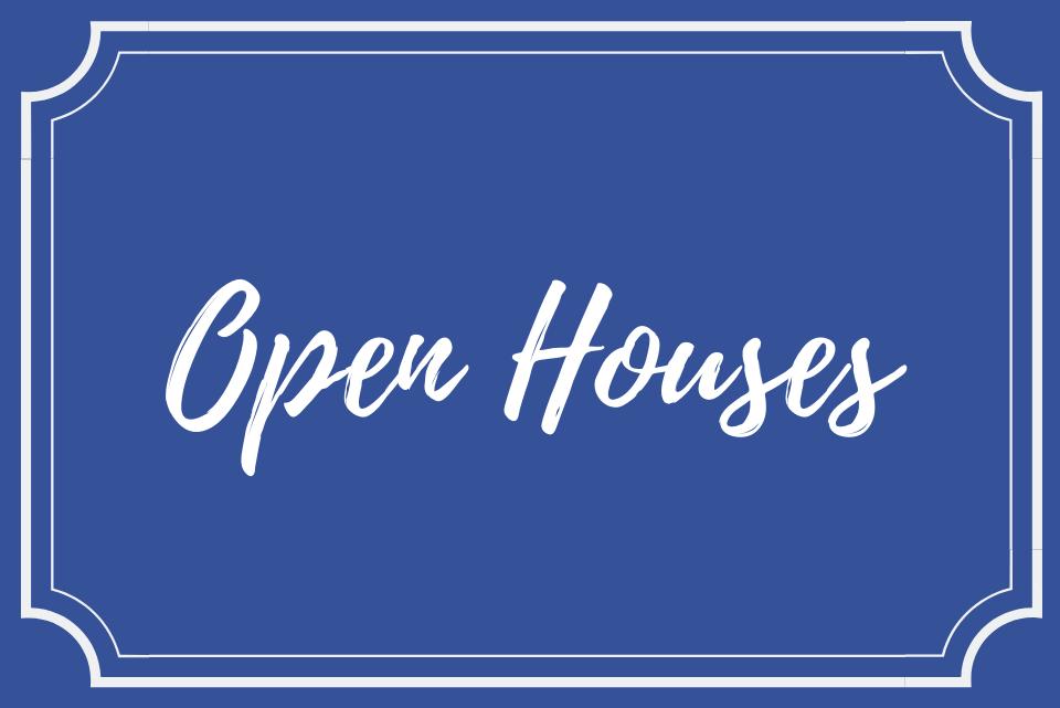 open houses button