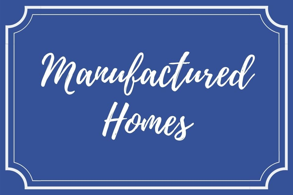 manufactured homes button