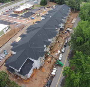 Multifamily Roofing projects