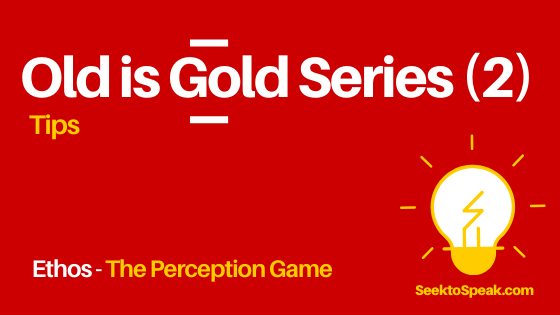 Ethical Appeal – The Perception Game