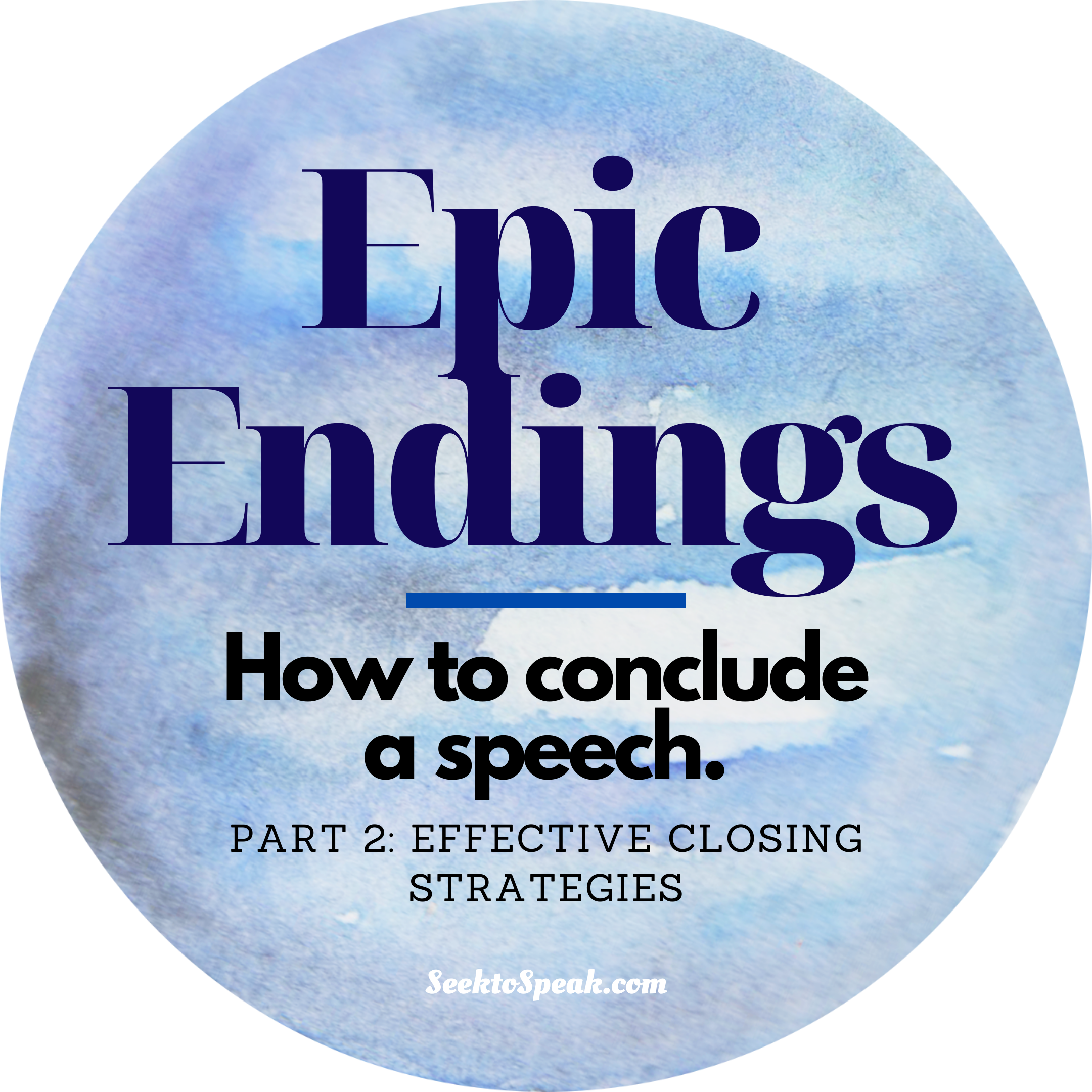 Concluding a Speech – Effective Closing Strategies
