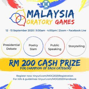 Malaysia Oratory Games 2020