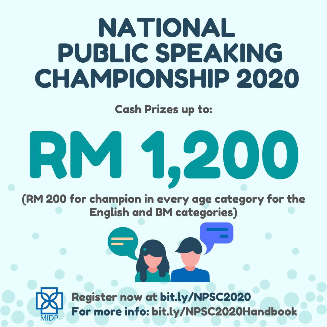 National Public Speaking Championship 2020