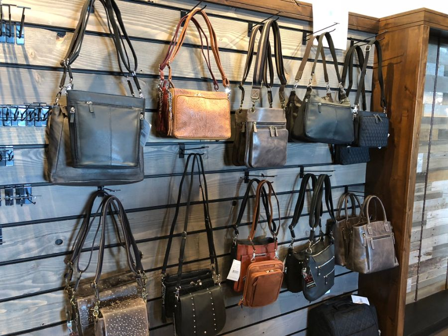 Concealed purses for sale at Timberline Firearms
