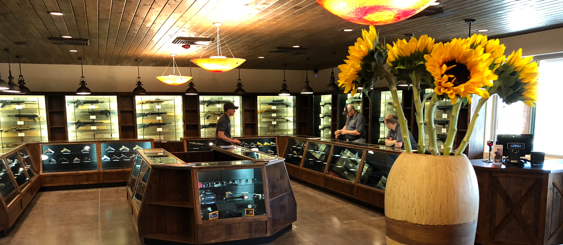 Overview of Timberline Firearms Retail Area