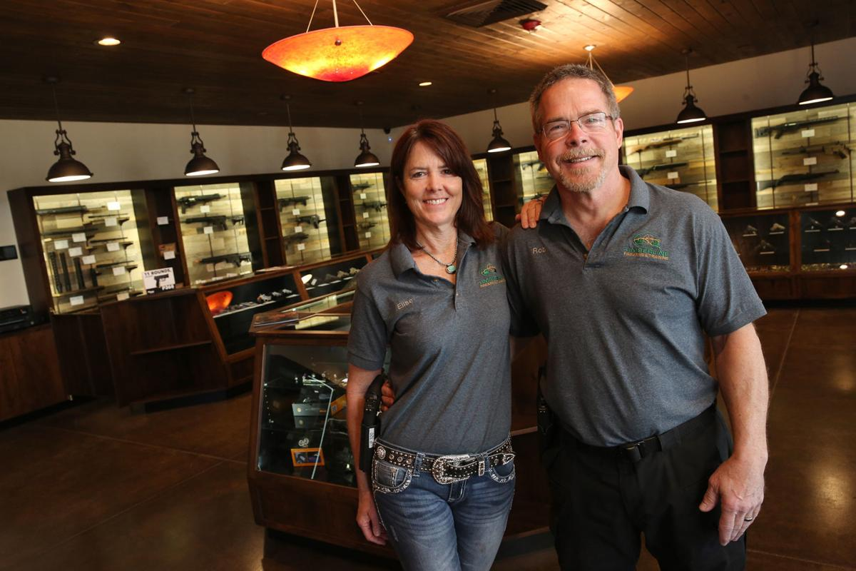 Timberline Firearms Owners Elise and Rob