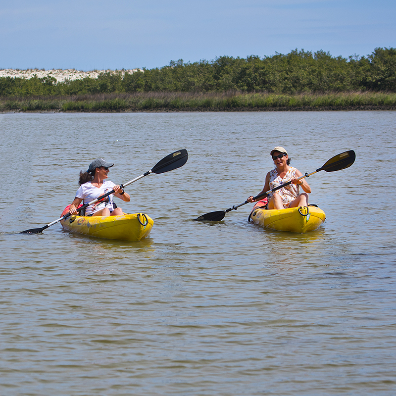 Anastasia State Park Kayacking