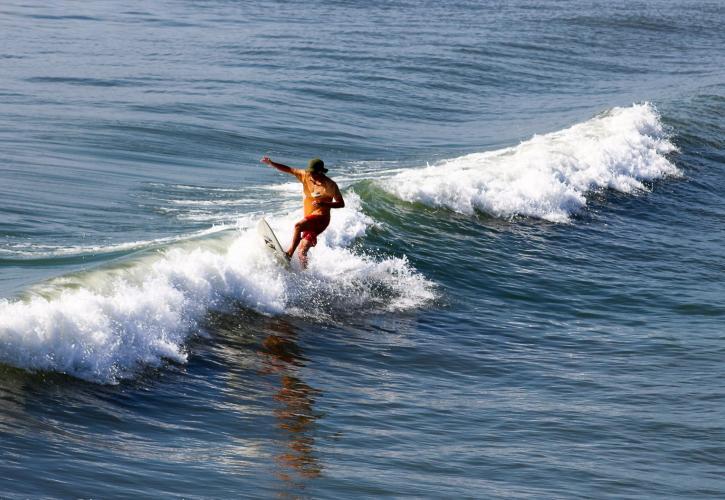 Anastasia State Park Surfing