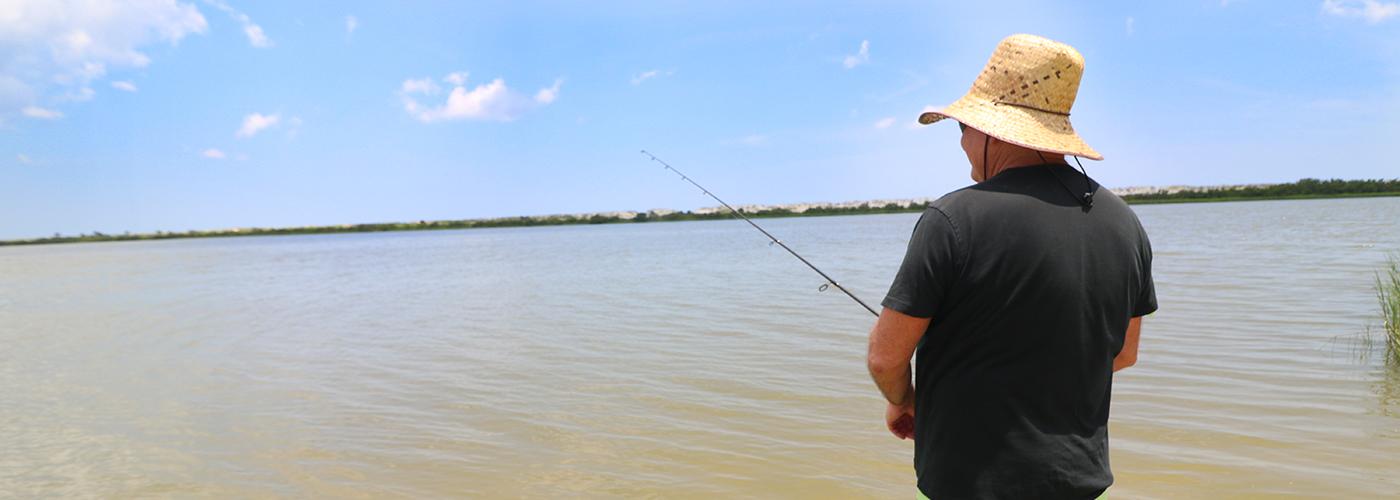Anastasia State Park Fishing