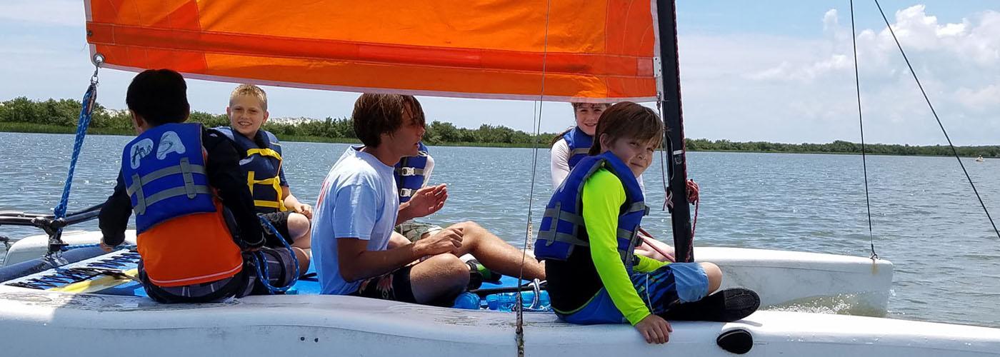 Anastasia Watersports Summer Camp Sail 5