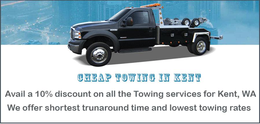 Towing Kent, WA