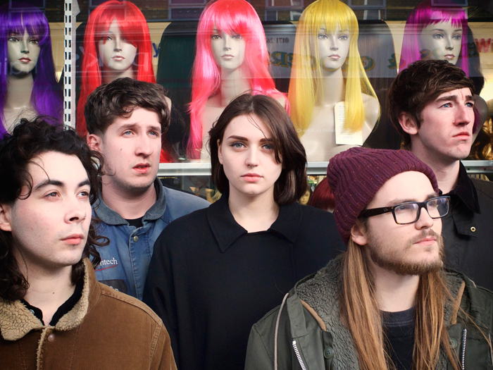 Joanna Gruesome's new album, Peanut Butter, is out May 11. (Pat Graham/Courtesy of the artist)