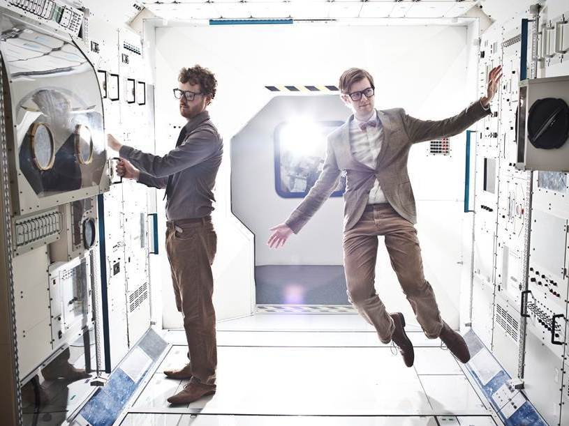 Public Service Broadcasting's new album, The Race For Space, comes out Feb. 23. (Courtesy of the artist)