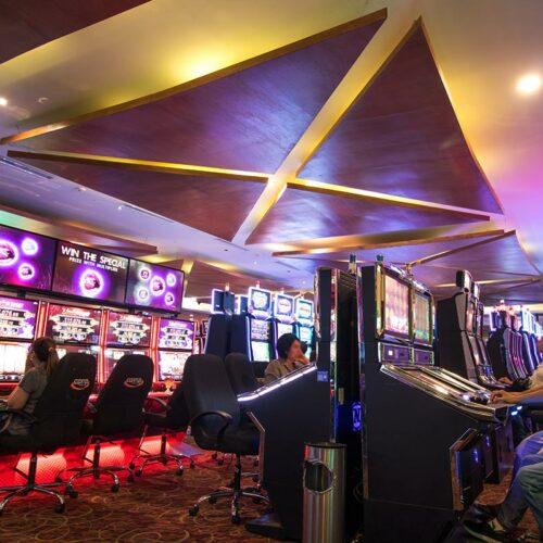 Maquinitas en Casino Capital La Paz