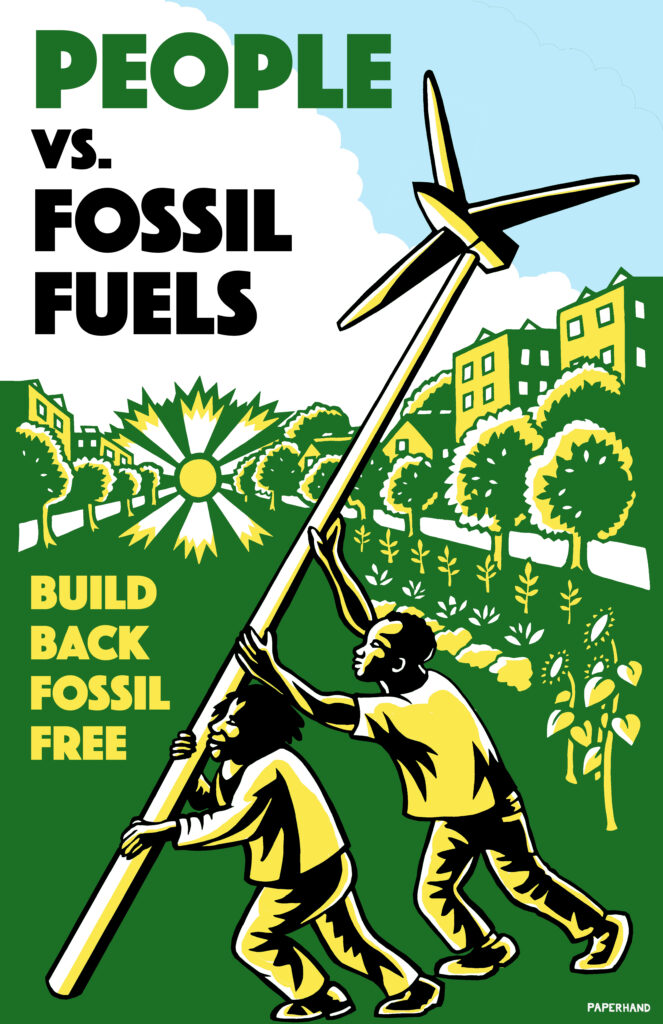 People vs. Fossil Fuels by Jan Burger, Paperhand-3