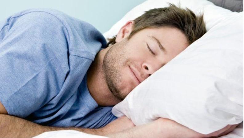 apnea guy sleeping very well