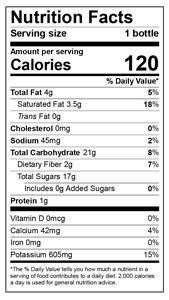mango-coconut-smoothie-nutritional-information