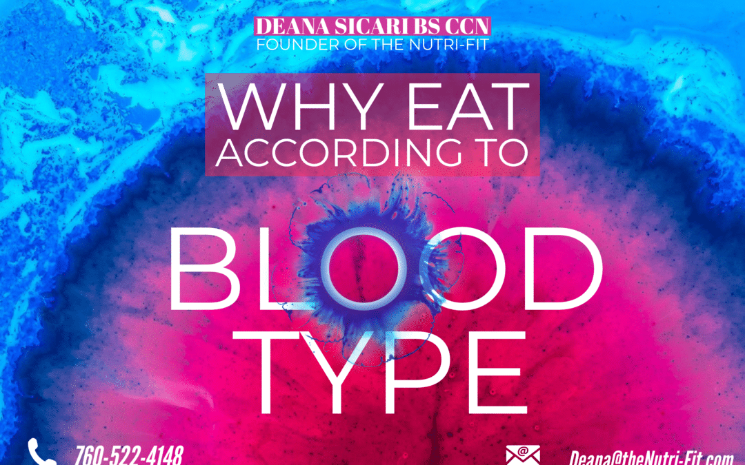 Why Eat According to Blood Type?