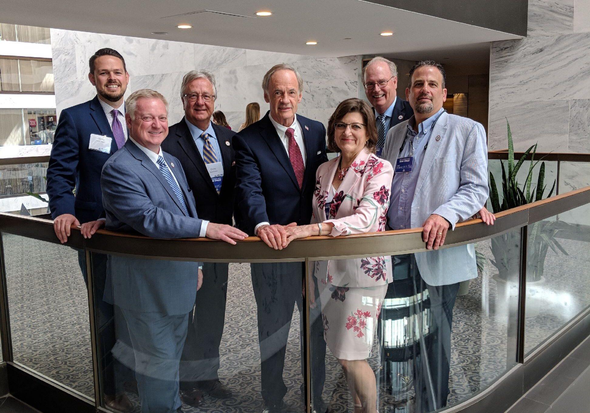 NAIFA Delaware members meet with Senator Carper at Washington Congressional Conference