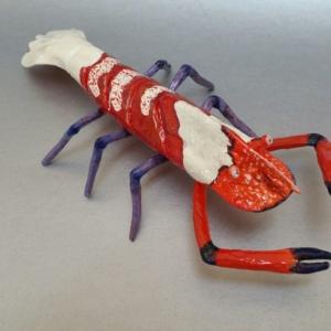 Colemans Shrimp Sculpture