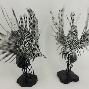 Lion Fish Sculptures