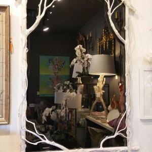White Branch Mirror