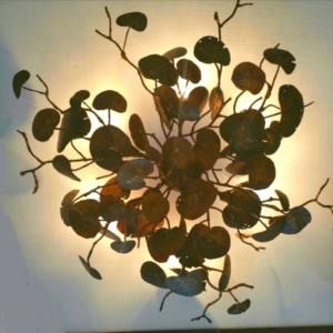 Sea Grape Ceiling Light Fixture