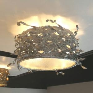 Round Ribbon Ceiling Light