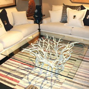 White Coral Coffee Table