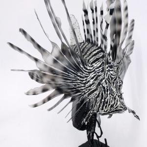 Lion Fish Sculpture