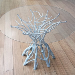 White Coral Table