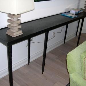 Long Black Table