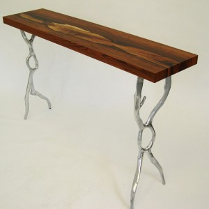 Brazilian Rosewood Mercury Table