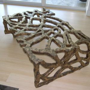 Gilded Alligator Table