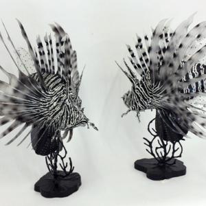 Lionfish Sculptures