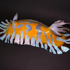 Nudibranch Sculpture [approx. 16in]