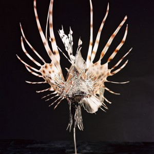 Lion Fish Sculpture [approx. 16in]